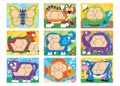 M&D - Animal Pattern Blocks Set