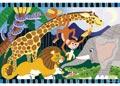 Melissa & Doug – Safari Social Floor Puzzle – 24pc