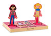 Melissa & Doug – Abby & Emma Magnetic Dress-Up