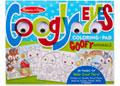 M&D – Googly Eyes Coloring Pad – Goofy Animals