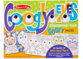 M&D – Googly Eyes Coloring Pad – Goofy Faces