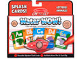 M&D – On The Go – Water WOW! Splash Cards – Letters! Animals!