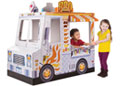 M&D - Cardboard Indoor Playhouse - Food Truck
