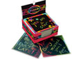 M&D - Rainbow Mini Scratch Art Notes Box