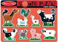 Melissa & Doug – Farm Animals Sound Puzzle – 8pc