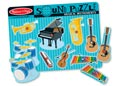 Melissa & Doug – Musical Instruments Sound Puzzle – 8pc