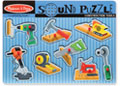 M&D - Construction Tools Sound Puzzle - 8pc