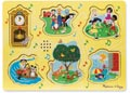 M&D - Nursery Rhyme A Sound Puzzle - 6pc