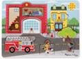 M&D - Fire Station Sound Puzzle - 8pc