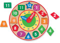M&D - Wooden Shape Sorting Clock