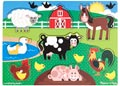M&D – Farm Peg Puzzle