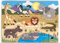 M&D – Safari Peg Puzzle