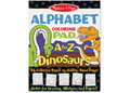 M&D - Colouring Pad - Dinosaurs Alphabet