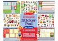 M&D - Reusable Sticker Pad - My Town