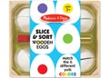 M&D - Slice & Sort Wooden Eggs
