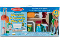 M&D -Deluxe Cleaning & Laundry Play Set