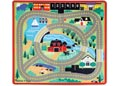 MND - Town & Road Mat & Vehicles 100x90cm