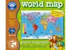 Orchard Jigsaw - World Map Puz & Poster 150pc