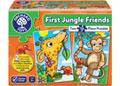Orchard Jigsaw - First Jungle Friends 2 x 12 pc