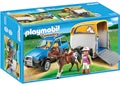 Playmobil – SUV with Horse Trailer