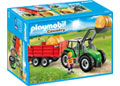 Playmobil – Large Tractor with Trailer