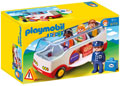 Playmobil - 1.2.3 Airport Shuttle Bus