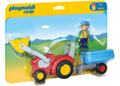 Playmobil - 1.2.3 Tractor with Trailer