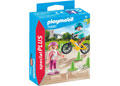 Playmobil - Children with Skates and Bike