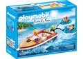 Playmobil - Speedboat with Tube Riders