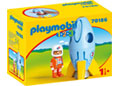 Playmobil - 1.2.3 Astronaut with Rocket
