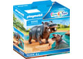 Playmobil - Hippo with Calf