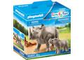 Playmobil - Rhino with Calf