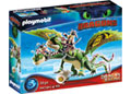 Playmobil - Dragon Racing: Ruffnut and Tuffnut with Barf and Belch
