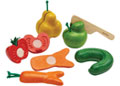 PlanToys - Wonky Fruit & Vegetables