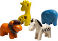 PlanToys - Wild Animals Set