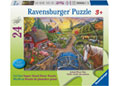 Ravensburger - My First Farm Puzzle 24pc