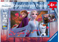 Ravensburger - Frozen 2 Frosty Adventures 2x24 pieces