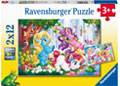 Ravensburger - Unicorns at Play 2x12 pieces