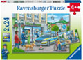 Ravensburger - Police at Work! 2x24 pieces