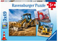 Ravensburger - Digger at Work! 3X49 pieces