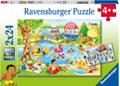 Ravensburger - Swimming at the Lake 2x24 pieces