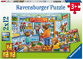 Ravensburger - Let's go Shopping 2x12 pieces