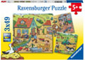 Ravensburger - On the Farm 3x49 pieces