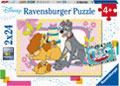 Ravensburger - Disney's Favorite Puppies 2x24pc