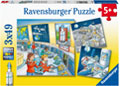Ravensburger - Tom & Mia go on a Space Mission 3x49pc