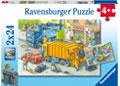 Ravensburger - Working Trucks Puzzle 2x24pc