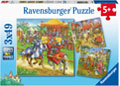 Ravensburger - Life of the Knight Puzzle 3x49pc