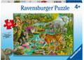 Ravensburger - Animals Of India Puzzle 60pc