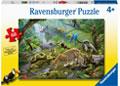 Ravensburger - Rainforest Animals Puzzle 60pc