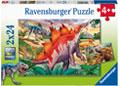 Ravensburger - Jurassic Wildlife Puzzle 2x24pc